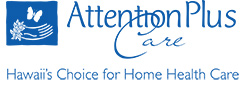 attention plus care logo